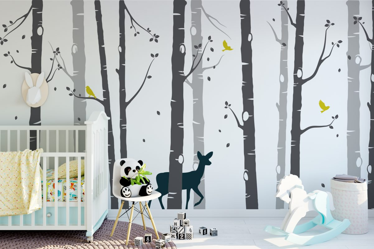 Birch Tree Wall Decals from Urban Artwork