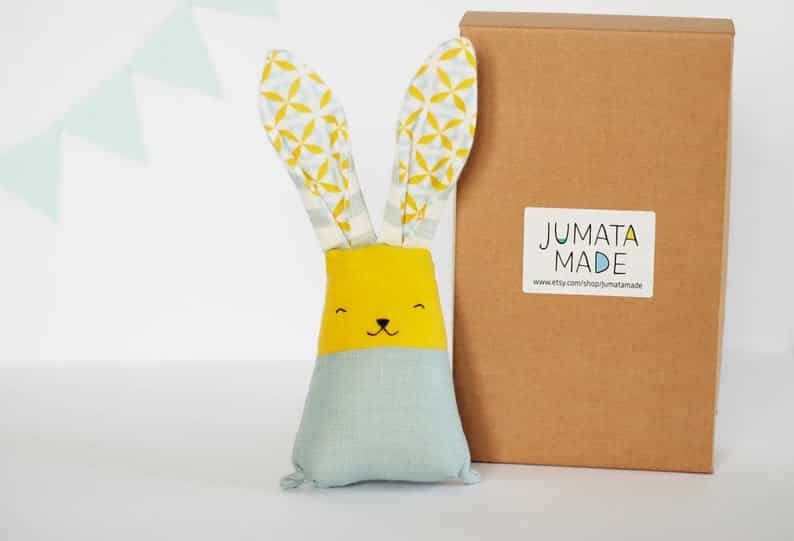 Bunny Rabbit Handmade Soft Toy